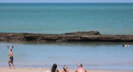 Praia de Boa Viagem na Sexta-feira Santa