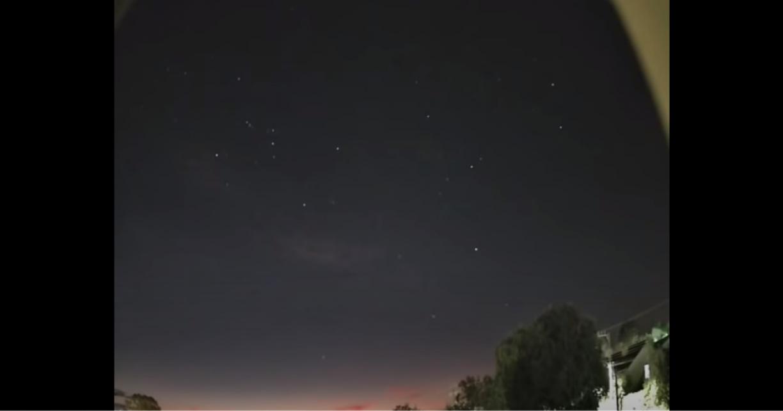Foguete chinês que cairá na Terra é visto no céu de SC; veja vídeo