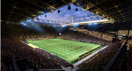 Vai ser possível editar o estádio e deixar as arquibancadas, traves da maneira que preferir